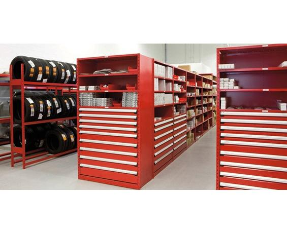 Bank of Drawers (shelving not included)