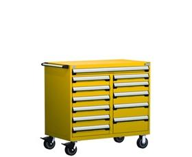 Mobile Multi Drawer Cabinet, 12 Drawers (48u0026quot;W X 24u0026quot ...